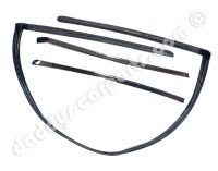 FRONT TARGA SEAL / STRIPS FOR VW PORSCHE 914