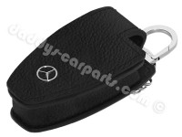 MERCEDES - BENZ KEY COVER KEYCHAIN BLACK