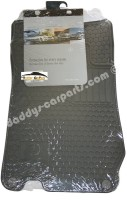 MB SL R230 FLOOR RUBBER MATS FRONT GREY