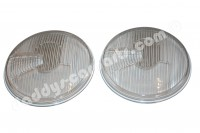 HEADLIGHT LENSES RHD ASYMMETRIC FOR PORSCHE 356 VW BUG