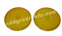 FOG LIGHT LENSES YELLOW FOR PORSCHE 911 912 MERCEDES