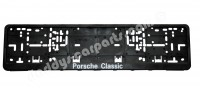 LICENSE PLATE FRAME GERMANY FOR PORSCHE