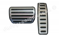 SET GAS + BRAKE PEDAL COVERS