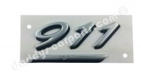 JUBI - SCHRIFTZUG 911 30 JAHRE SILBER / SCHWARZ FÜR PORSCHE 911 964
