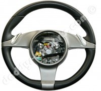 PDK STEERING WHEEL BLACK - GREY