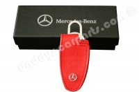MERCEDES - BENZ KEY COVER KEYCHAIN RED