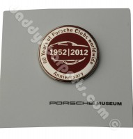 60 YEARS ANNIVERSARY CLUB PIN PORSCHE MUSEUM