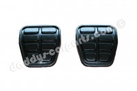 924S 944 968 SET FOOT PEDAL RUBBERS CLUTCH / BRAKE